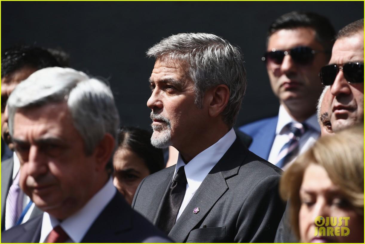 george clooney genocide memorial armenia 083638912
