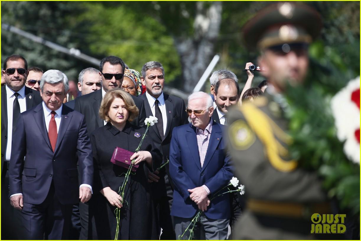 george clooney genocide memorial armenia 103638914