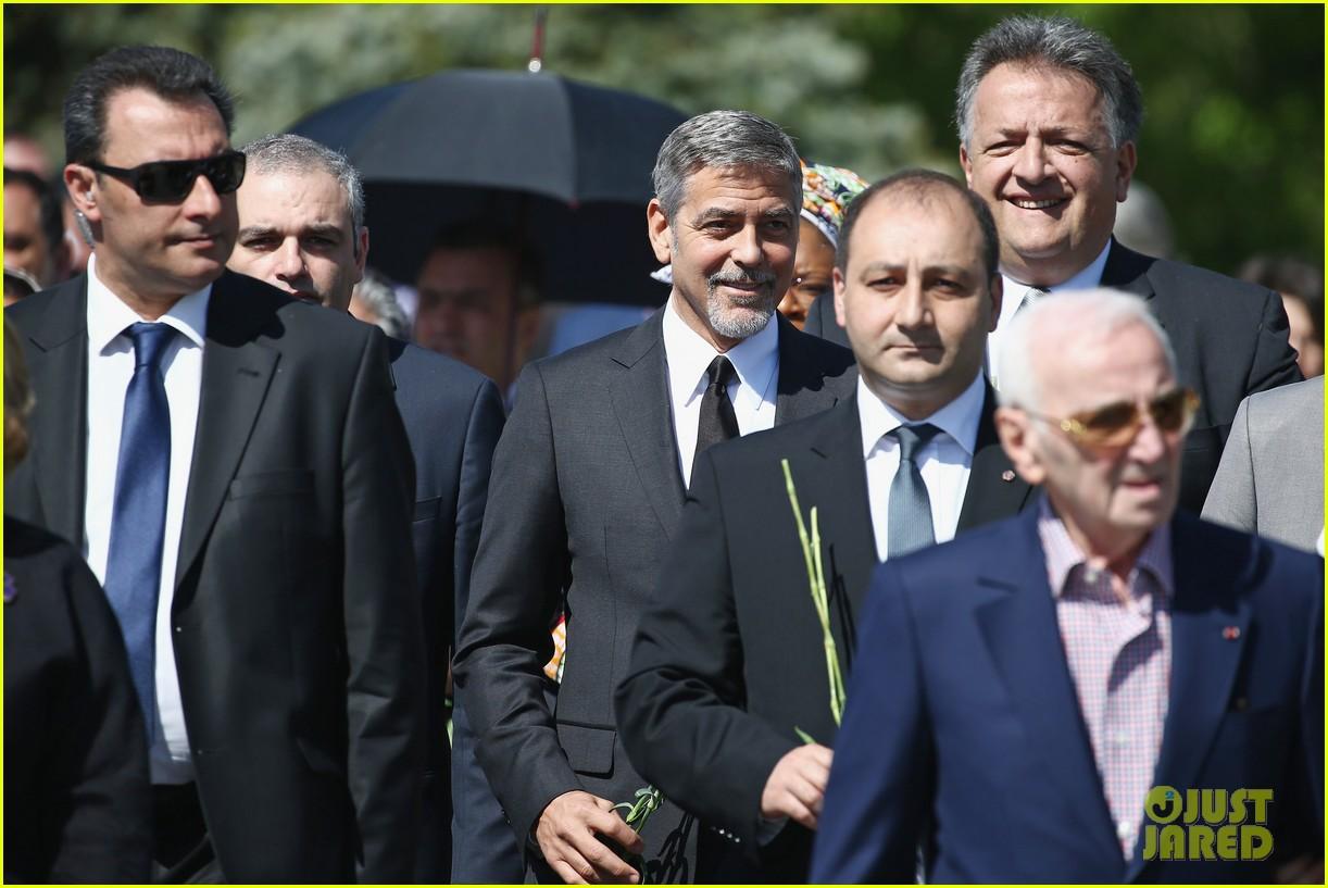 george clooney genocide memorial armenia 143638918