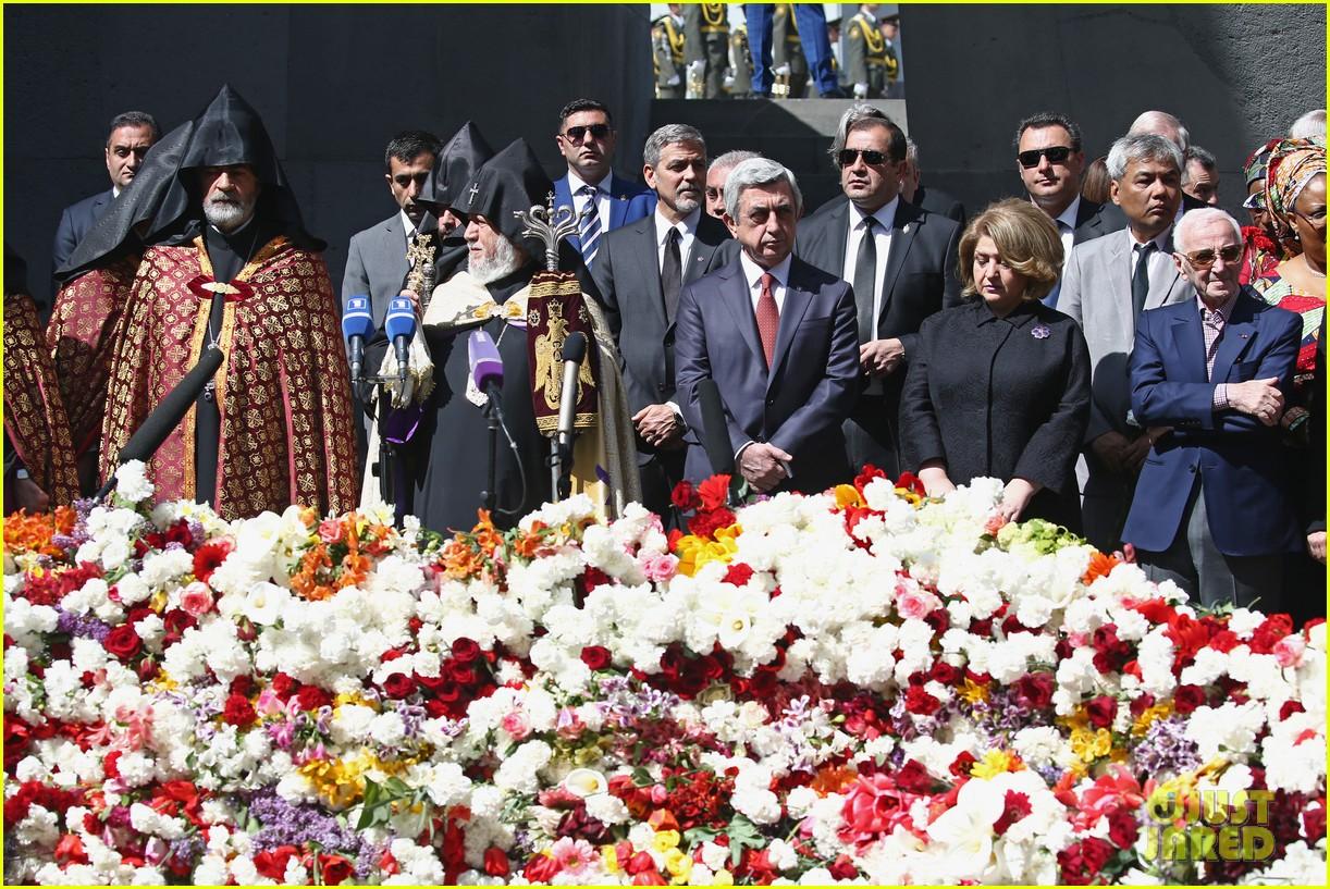 george clooney genocide memorial armenia 173638921