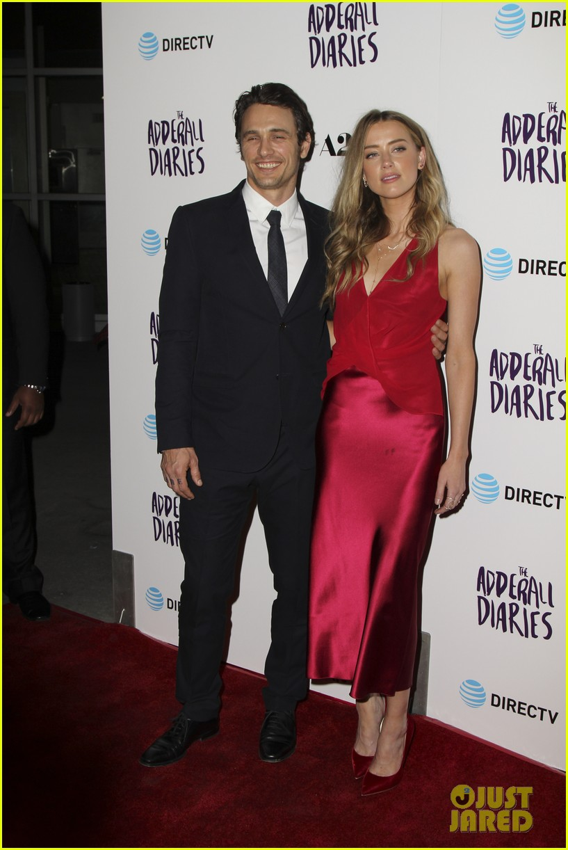 james franco amber heard reunite for the adderall diaries premiere 013629669