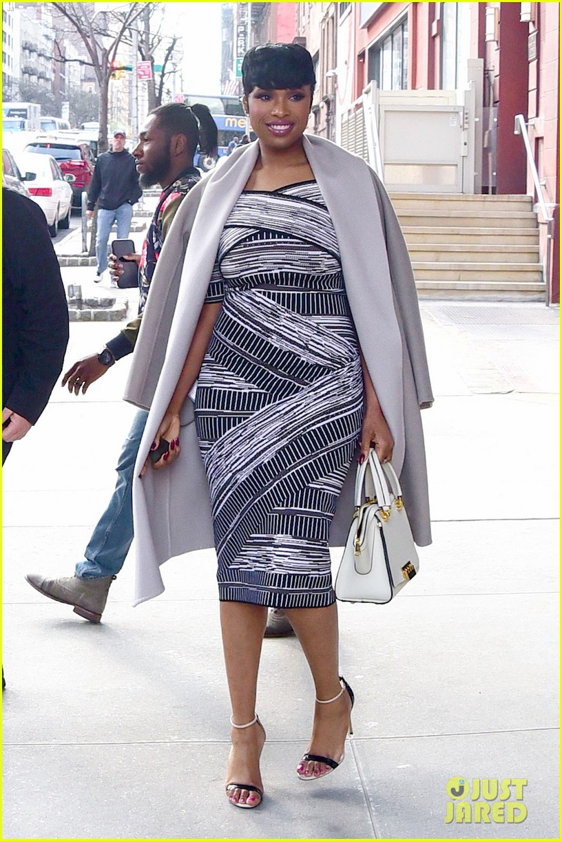jennifer hudson shows off her sons awesome hairstyle 093632552