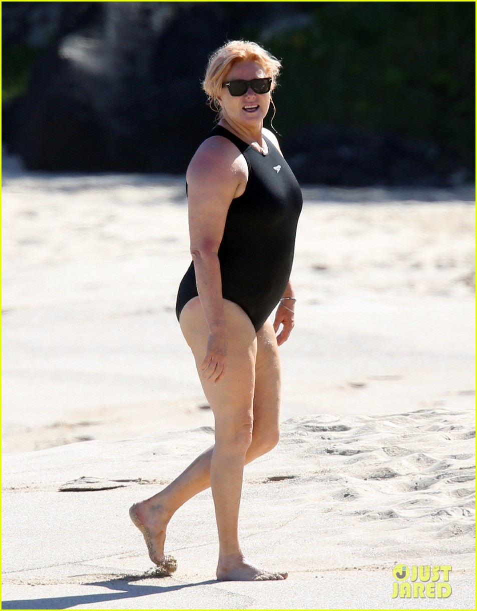 Hugh Jackman Spends Another Day at the Beach in St. Barts ...