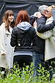 dakota johnsons mom melanie griffith visits fifty shades set 21