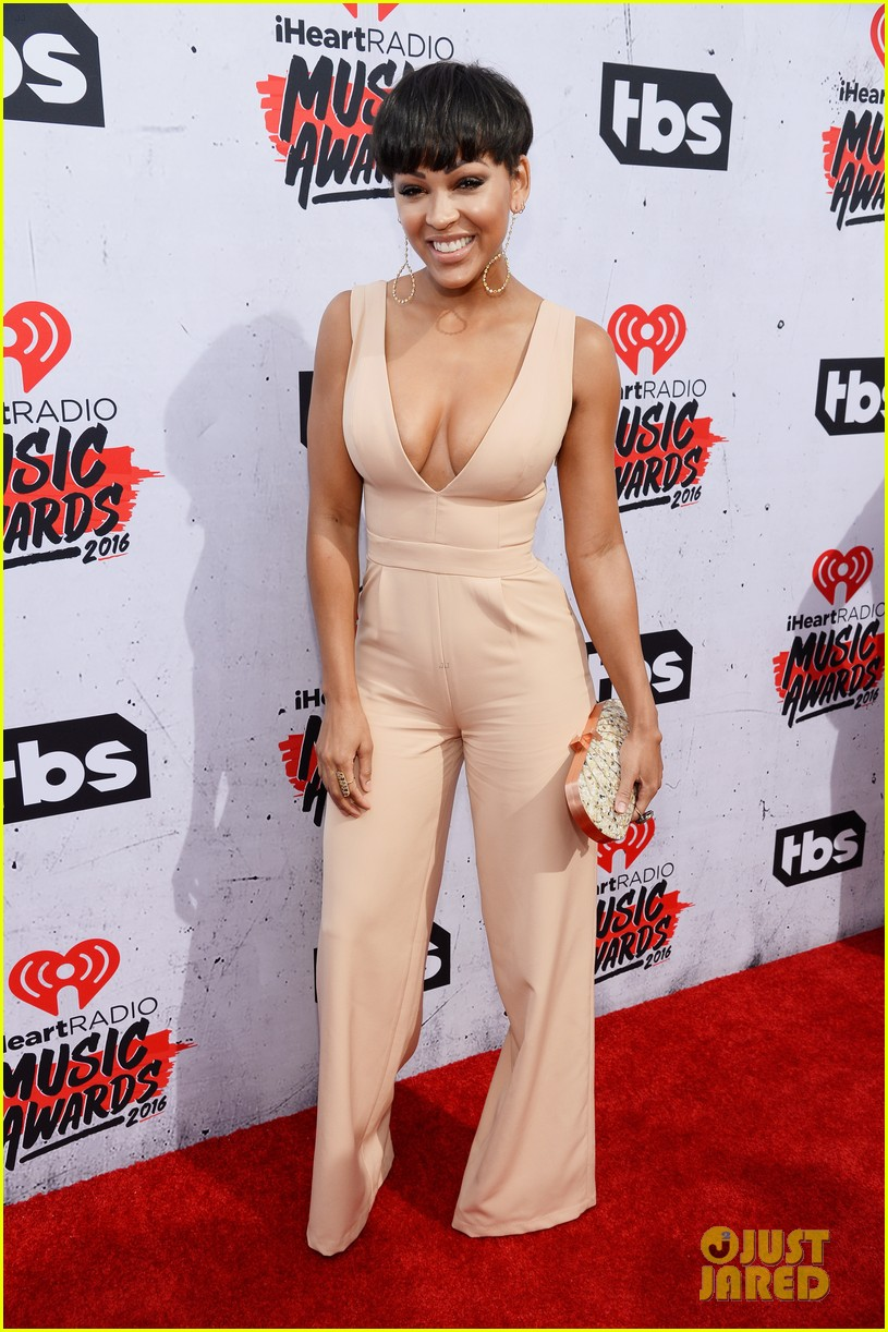 Keke Palmer Amp Meagan Good Step Out For IHeartRadio Music