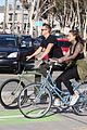 joel kinnaman goes for bike ride with cleo wattenstrom 03