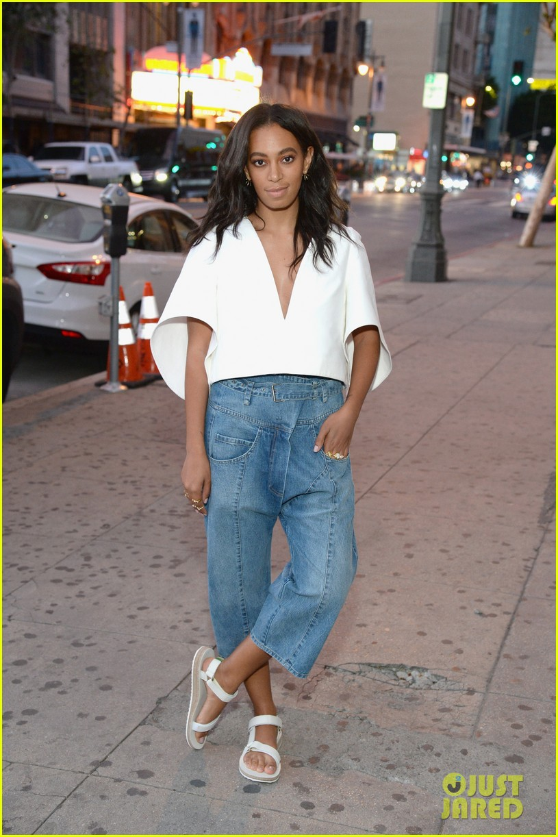 solange knowles shares her love for the green with indo listen 053635888