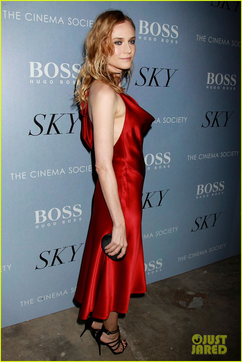 Diane Kruger Is Red Hot At Sky Premiere With Norman