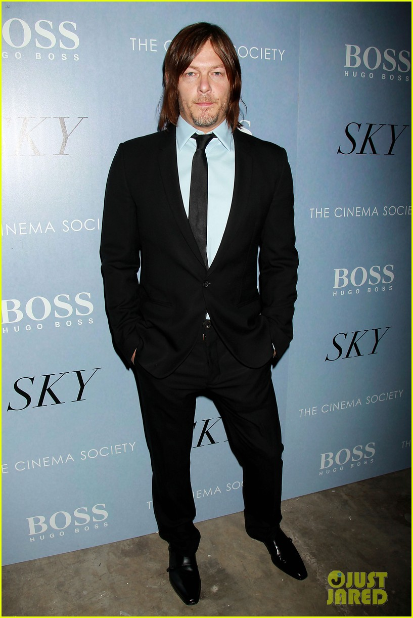Diane Kruger Is Red Hot at \'Sky\' Premiere with Norman Reedus!: Photo ...