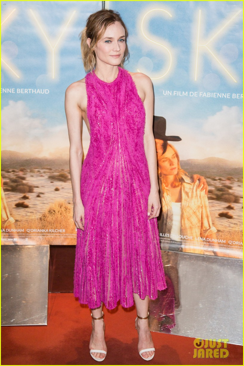 diane kruger is pretty in pink for sky paris premiere 103623624