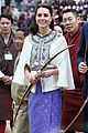 prince william kate middleton recieve warm welcome by king queen bhutan 14