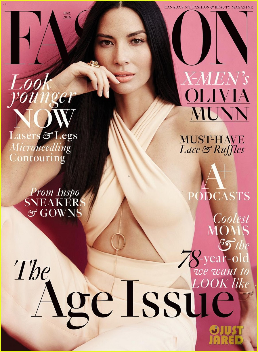 olivia munn tells fashion mag that plastic surgery rumors are unfair 023622299