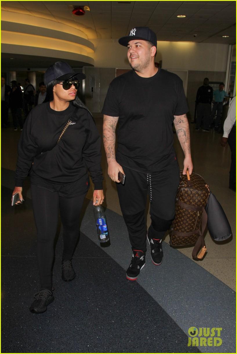 rob kardashian blac chyna land back in los angeles 043634933