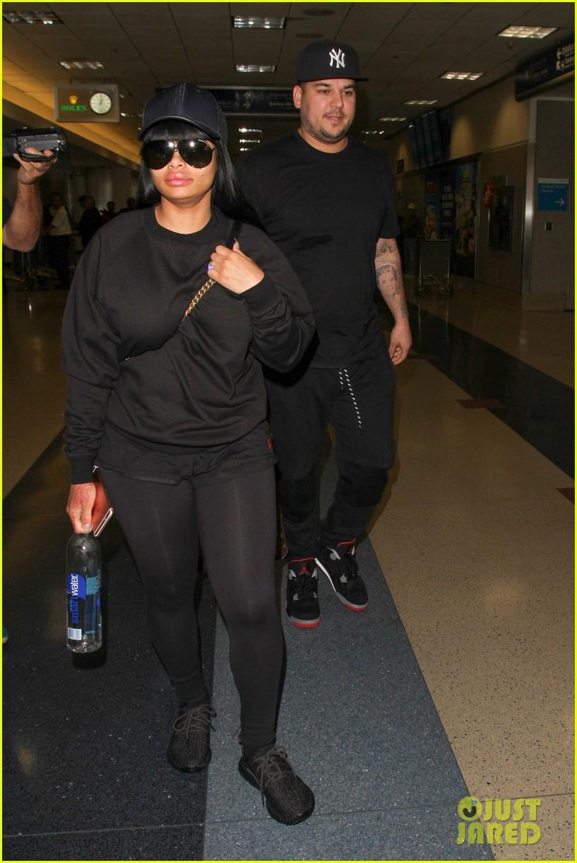 rob kardashian blac chyna land back in los angeles 153634944