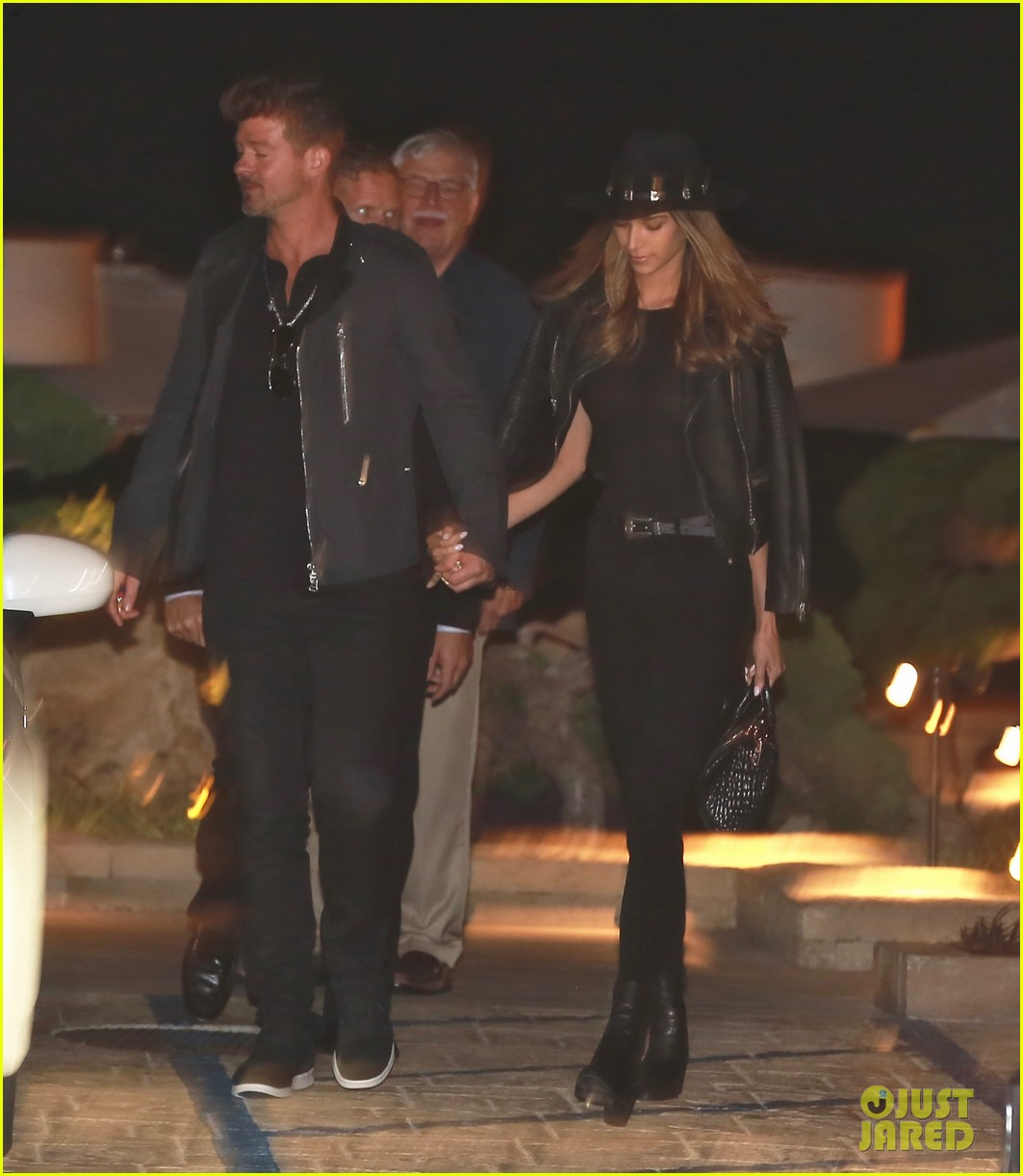 robin thicke april love geary have date night in malibu 013643726