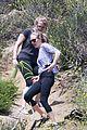 amanda seyfried takes finn for a hike 13