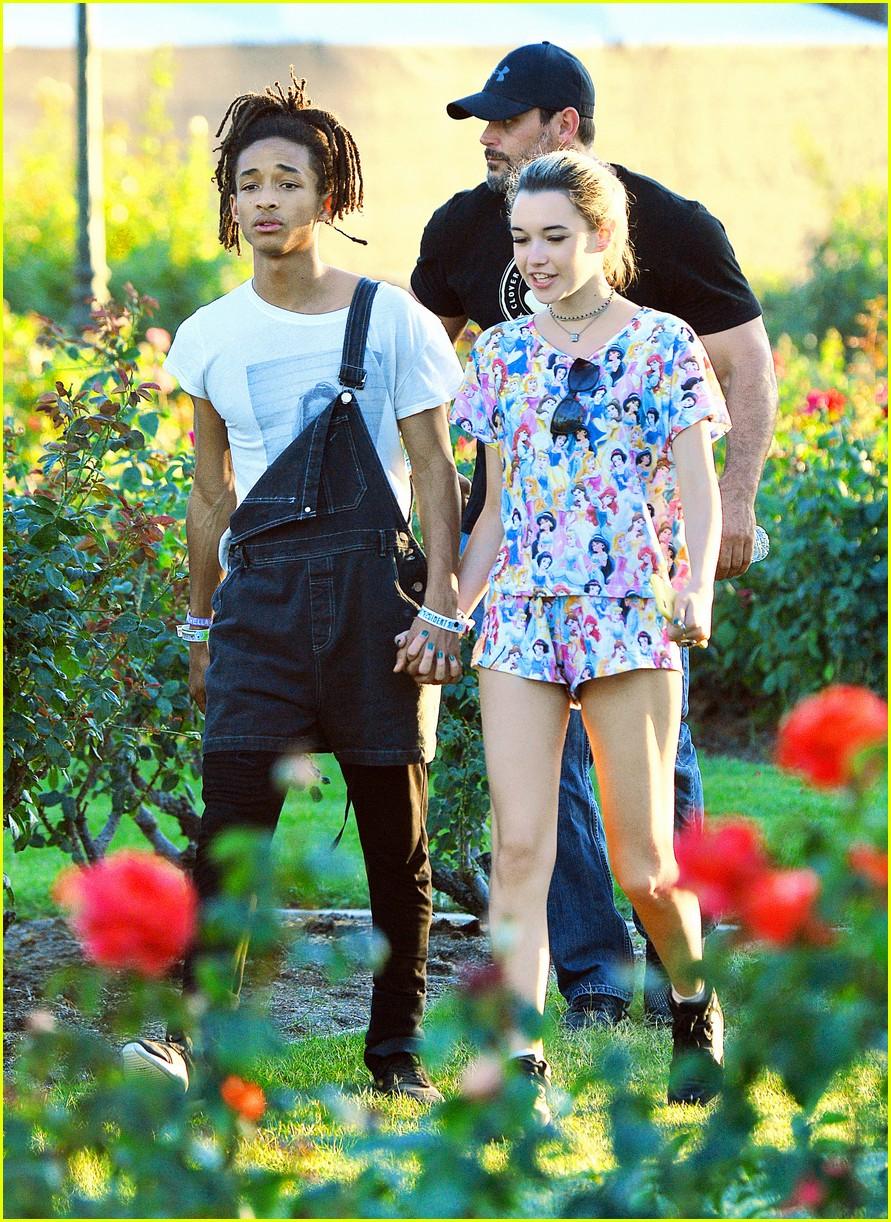 jaden smith girlfriend rose garden 053635460