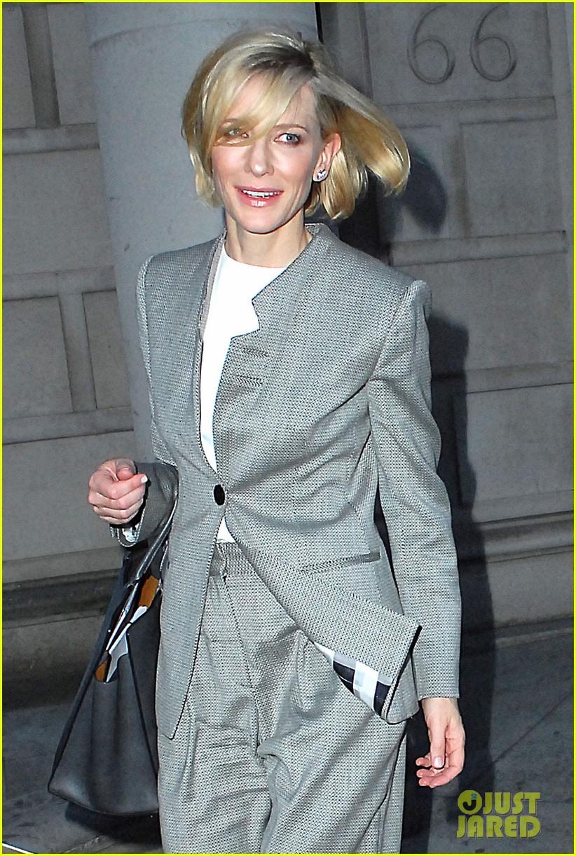 Cate Blanchett Rocks a Pantsuit in London: Photo 3666195   Cate ...