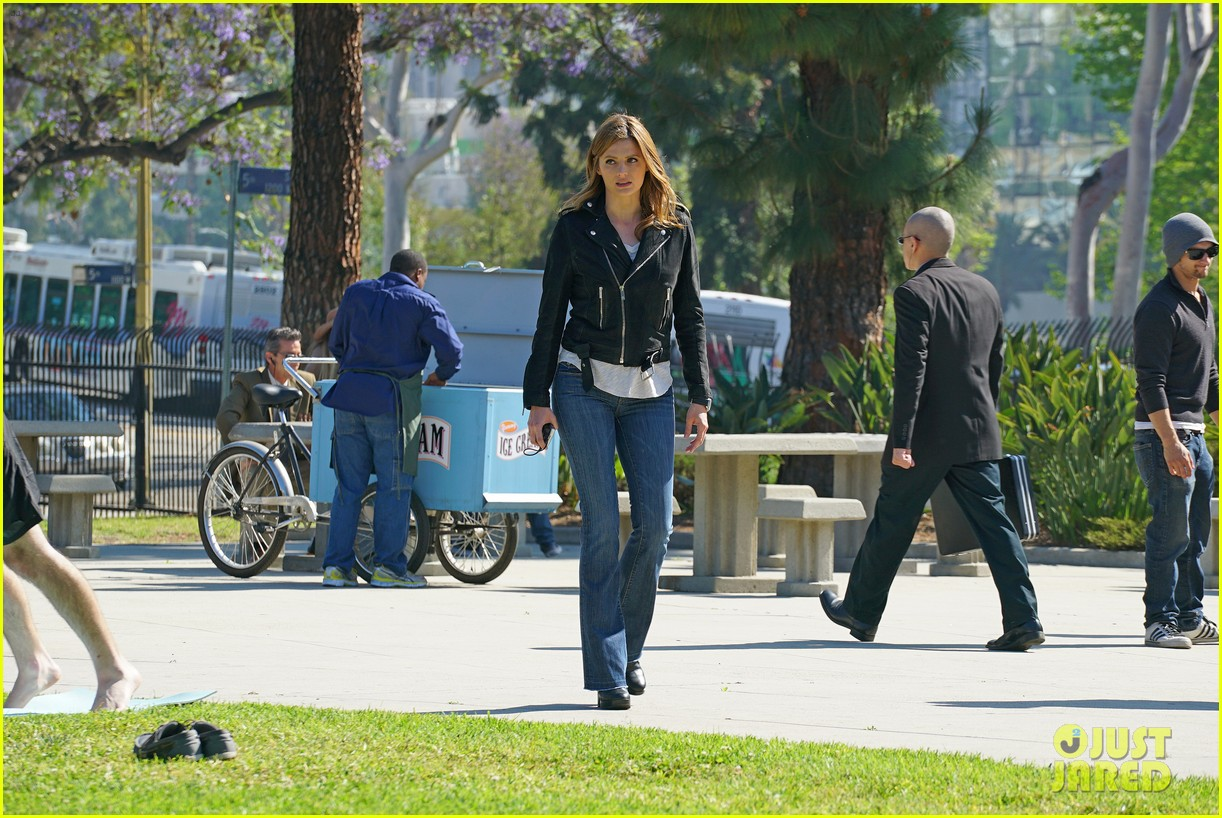 castle canceled by abc after stana katic was let go 013654147