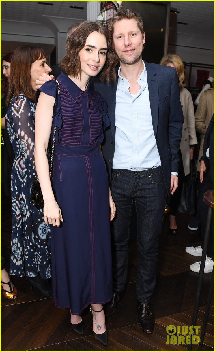claire danes hugh dancy couple up at burberry soho store opening 113647582