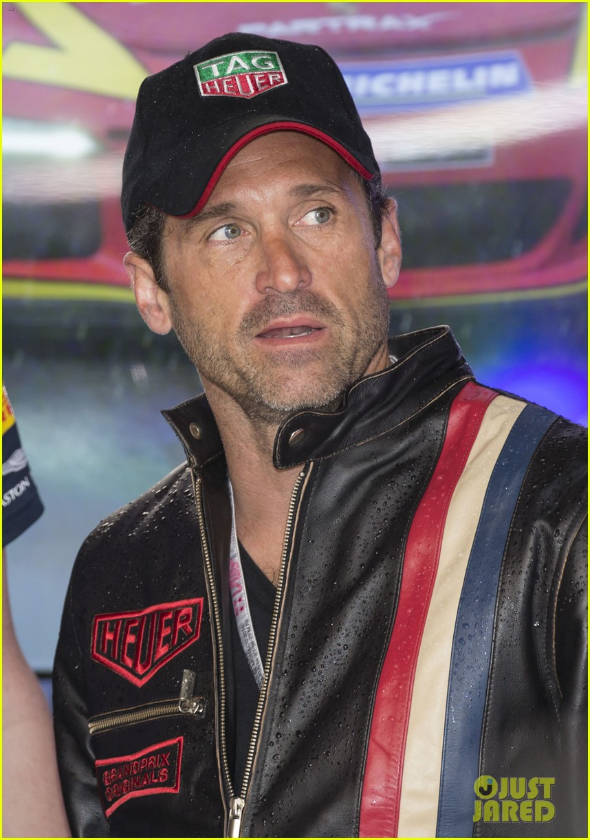 patrick dempsey talks recent vacation with his wife u0026 family