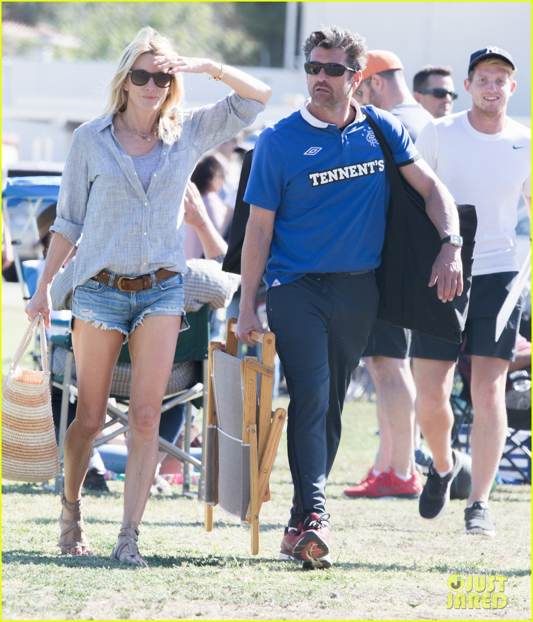 Patrick Dempsey Is The Ultimate Soccer Dad Photo 3664111 Jillian