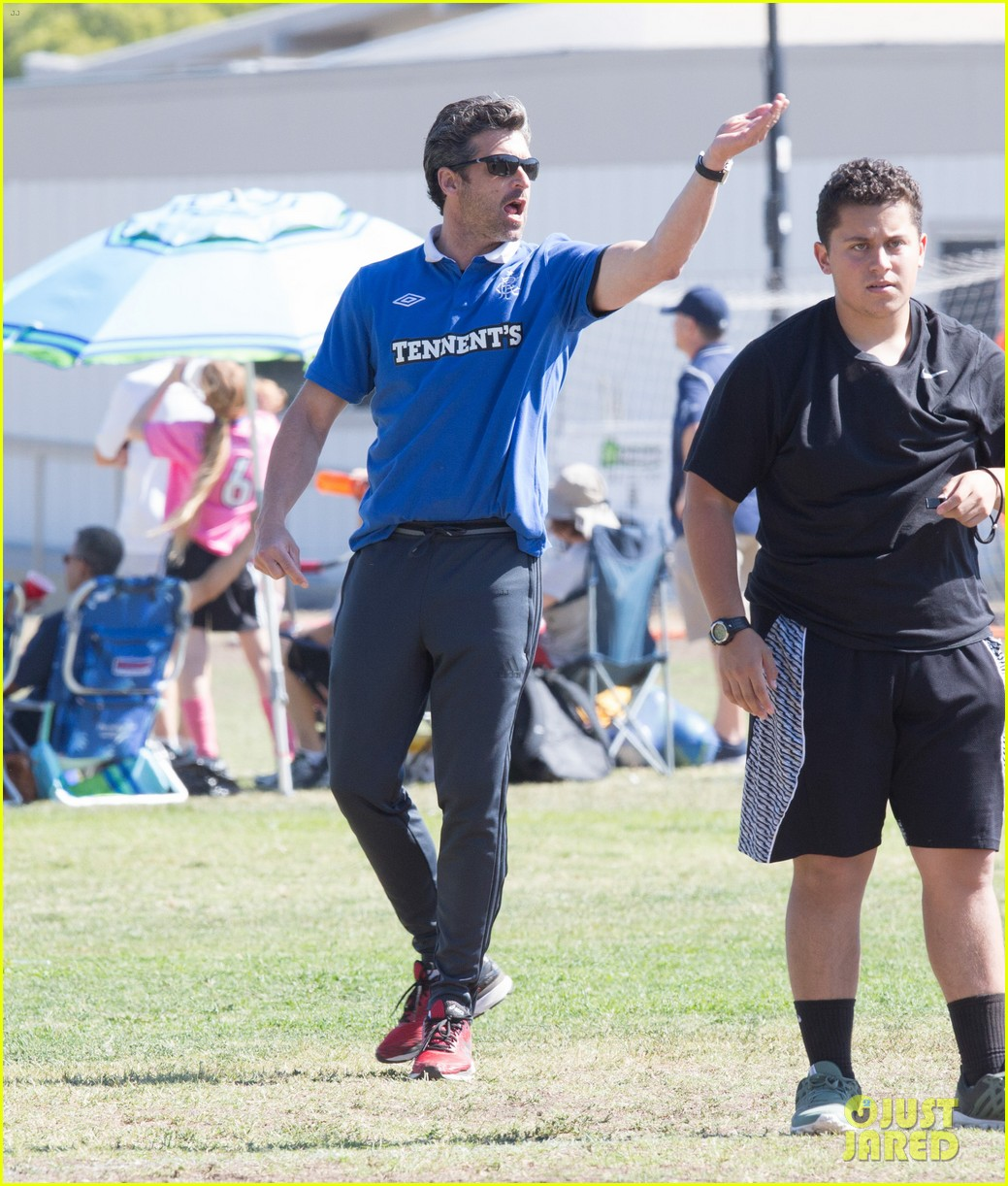 Patrick Dempsey Is The Ultimate Soccer Dad Photo 3664117 Jillian