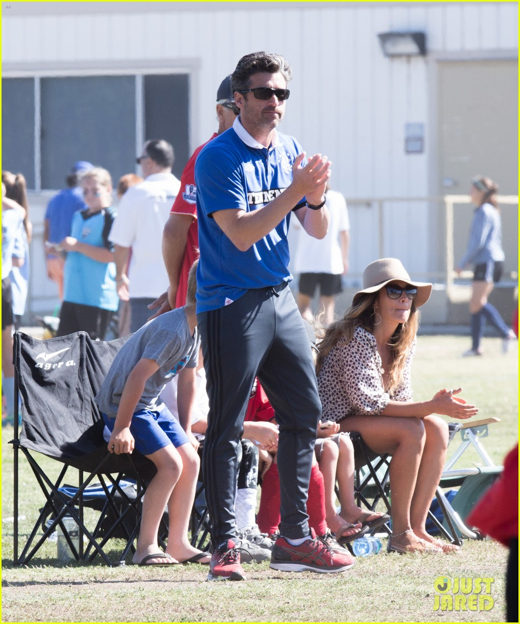 Patrick Dempsey Is The Ultimate Soccer Dad Photo 3664119 Jillian