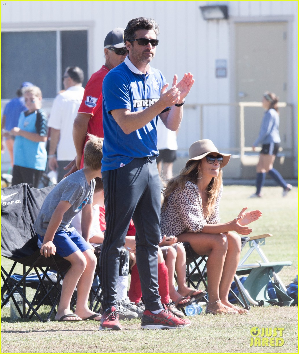 Patrick Dempsey Is The Ultimate Soccer Dad Photo 3664120 Jillian