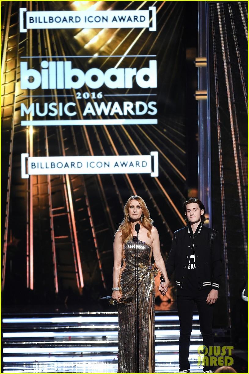 celine dion son rene charles angelil billboard music awards 2016 013663512