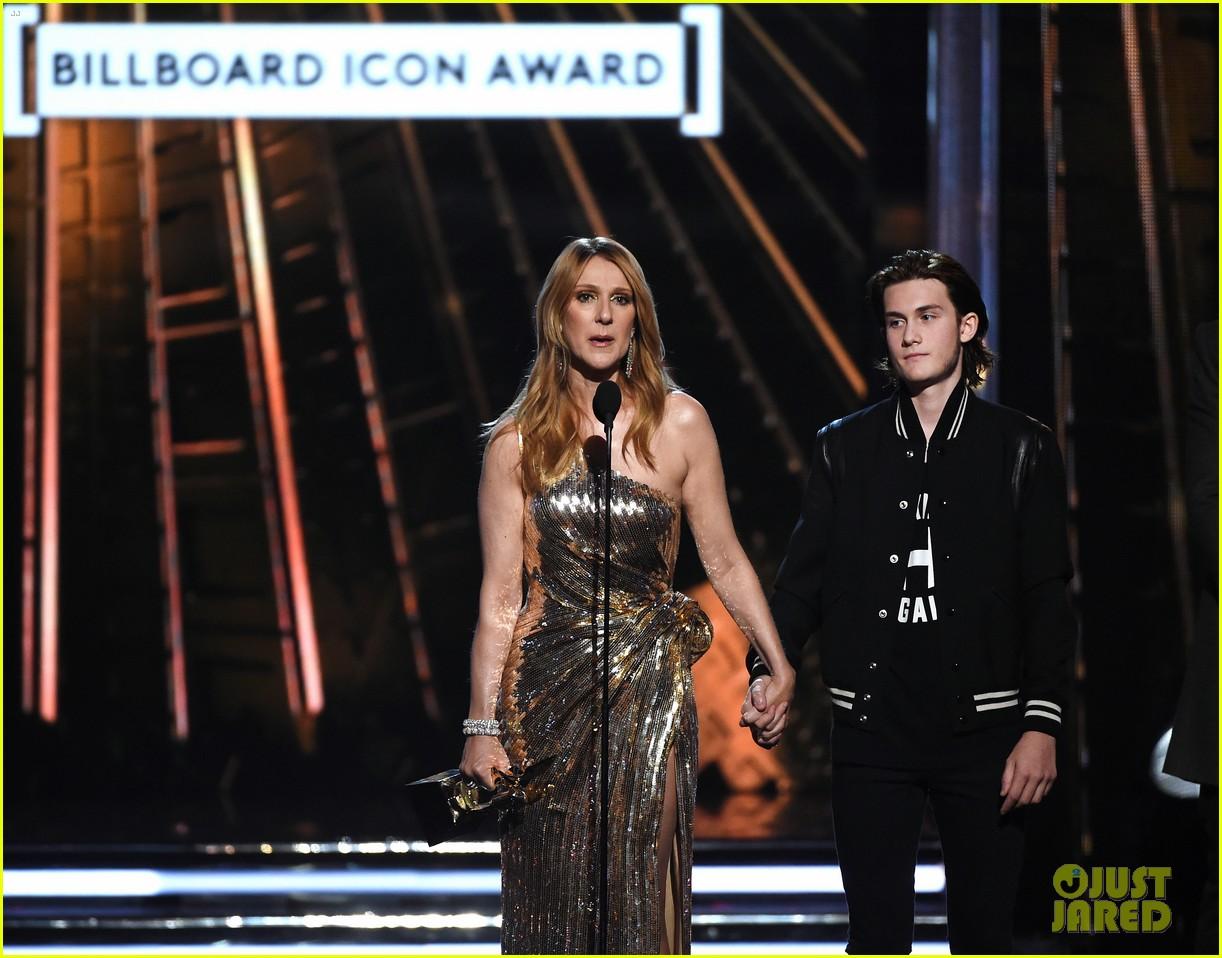 celine dion son rene charles angelil billboard music awards 2016 083663519