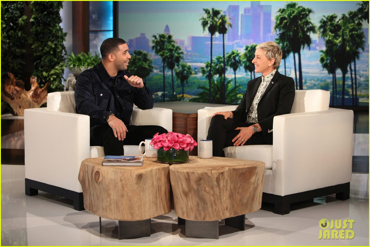 drake ellen show dating Jennifer lopez was the latest guest to sit down and catching up with ellen  degeneres on the ellen show the pop superstar discussed rumors.