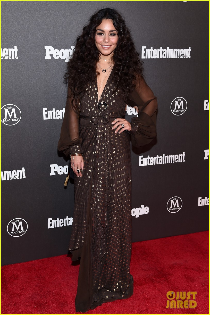 vanessa hudgens joins stars at ew people upfronts party 013658348