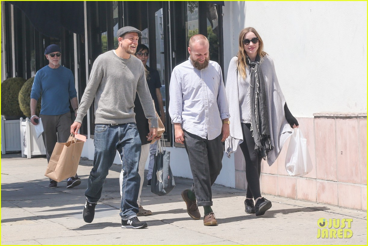 Charlie hunnam and his wife something