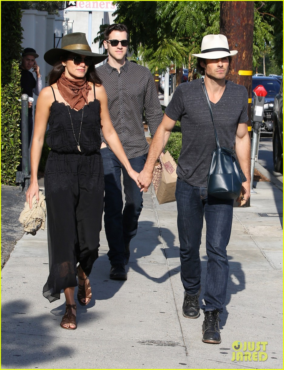 Nikki Reed Amp Ian Somerhalder Grab Mexican Lunch With