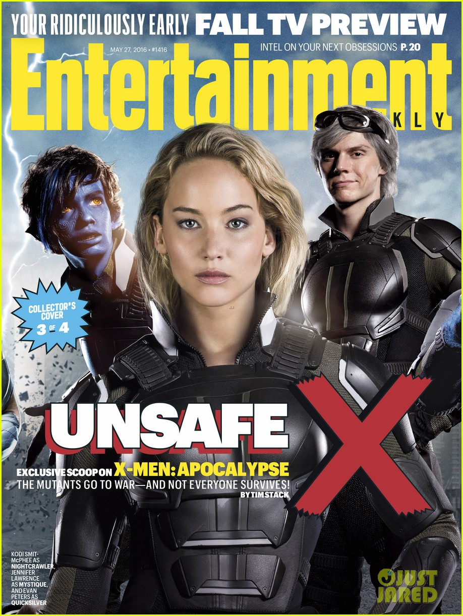 jennifer lawrence xmen entertainment weekly covers 033660925
