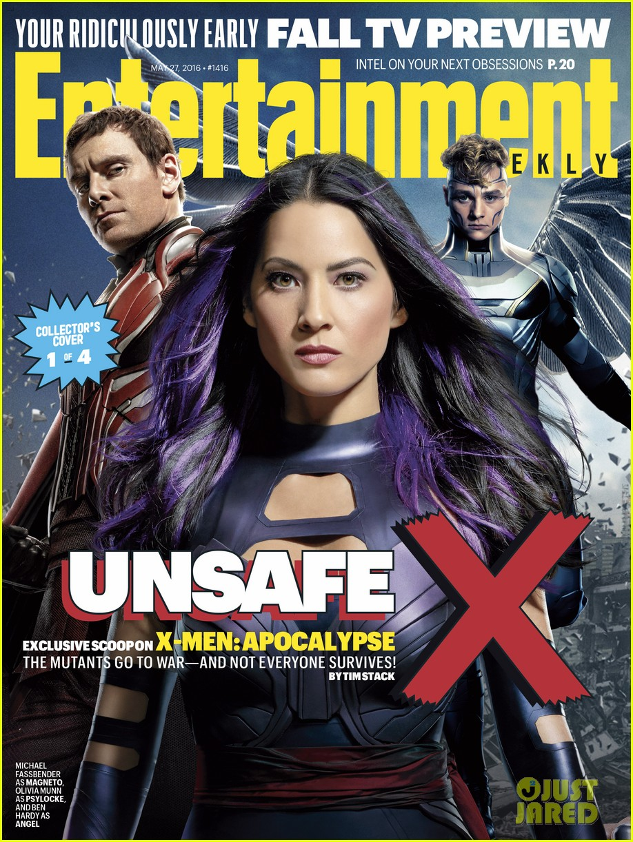 jennifer lawrence xmen entertainment weekly covers 043660926