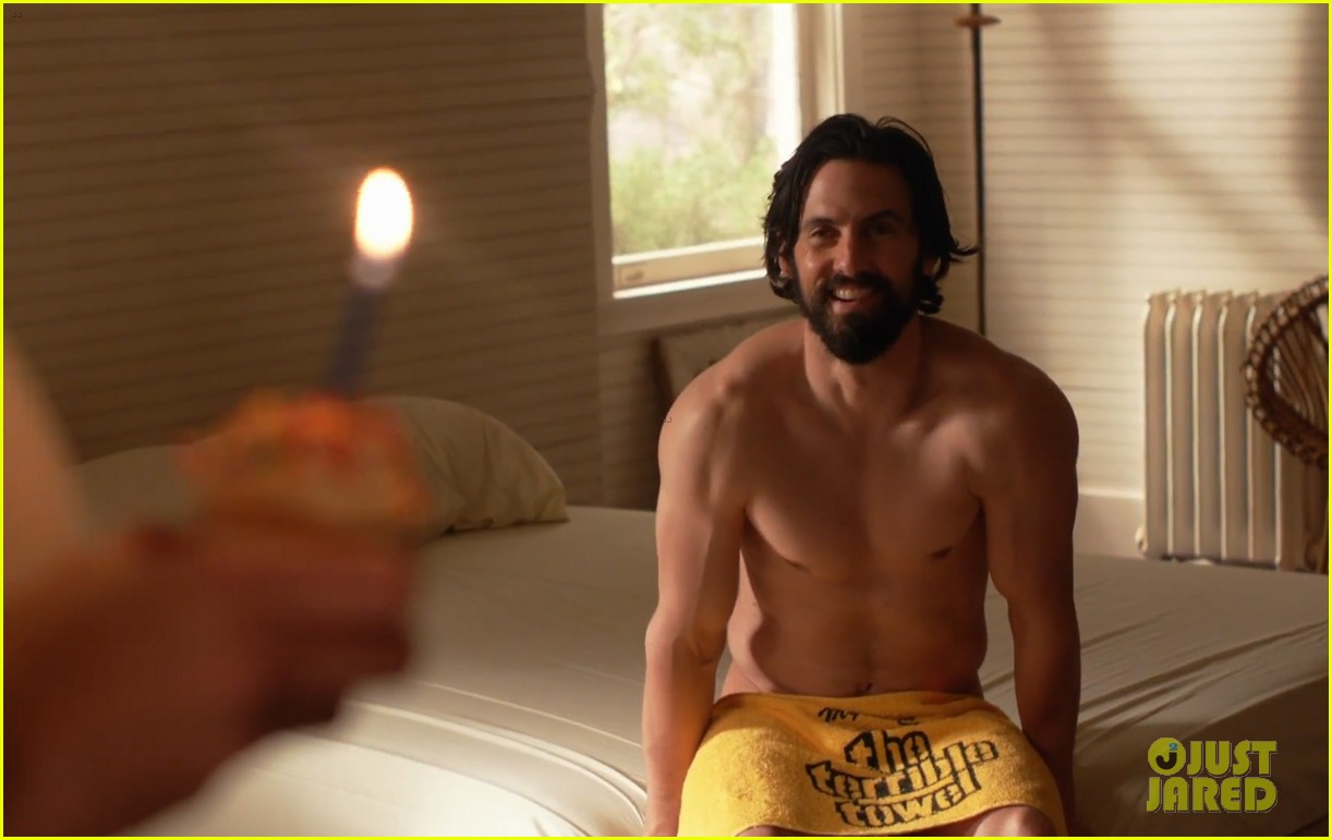 Milo Ventimiglia Strips Down In Emotional This Is Us