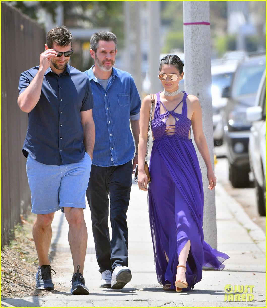 Aaron Rodgers Olivia Munn 2016