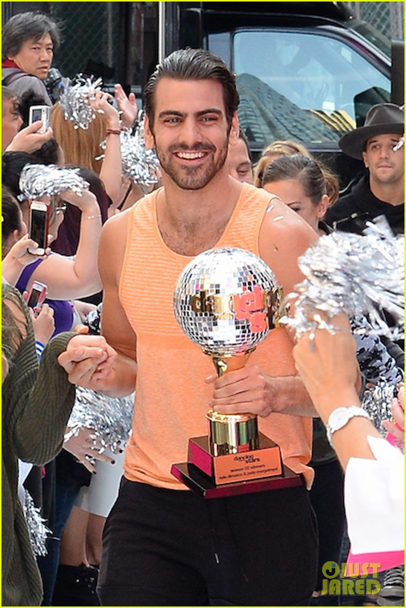 nyle dimarco dancing with the stars champion good morning america 053665987