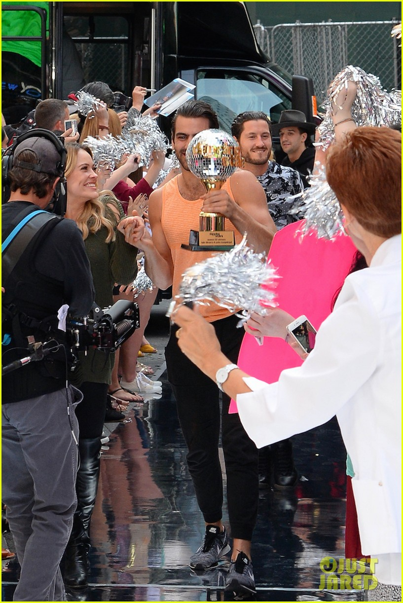 nyle dimarco dancing with the stars champion good morning america 343666016