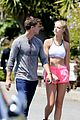 patrick schwarzenegger abby champion weekend workout undying 05