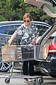 amy poehler stocks up on groceries before the weekend 13