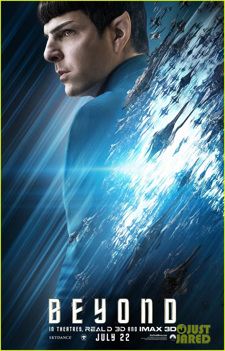 Zoe Saldana Gets A Star Trek Beyond Character Poster