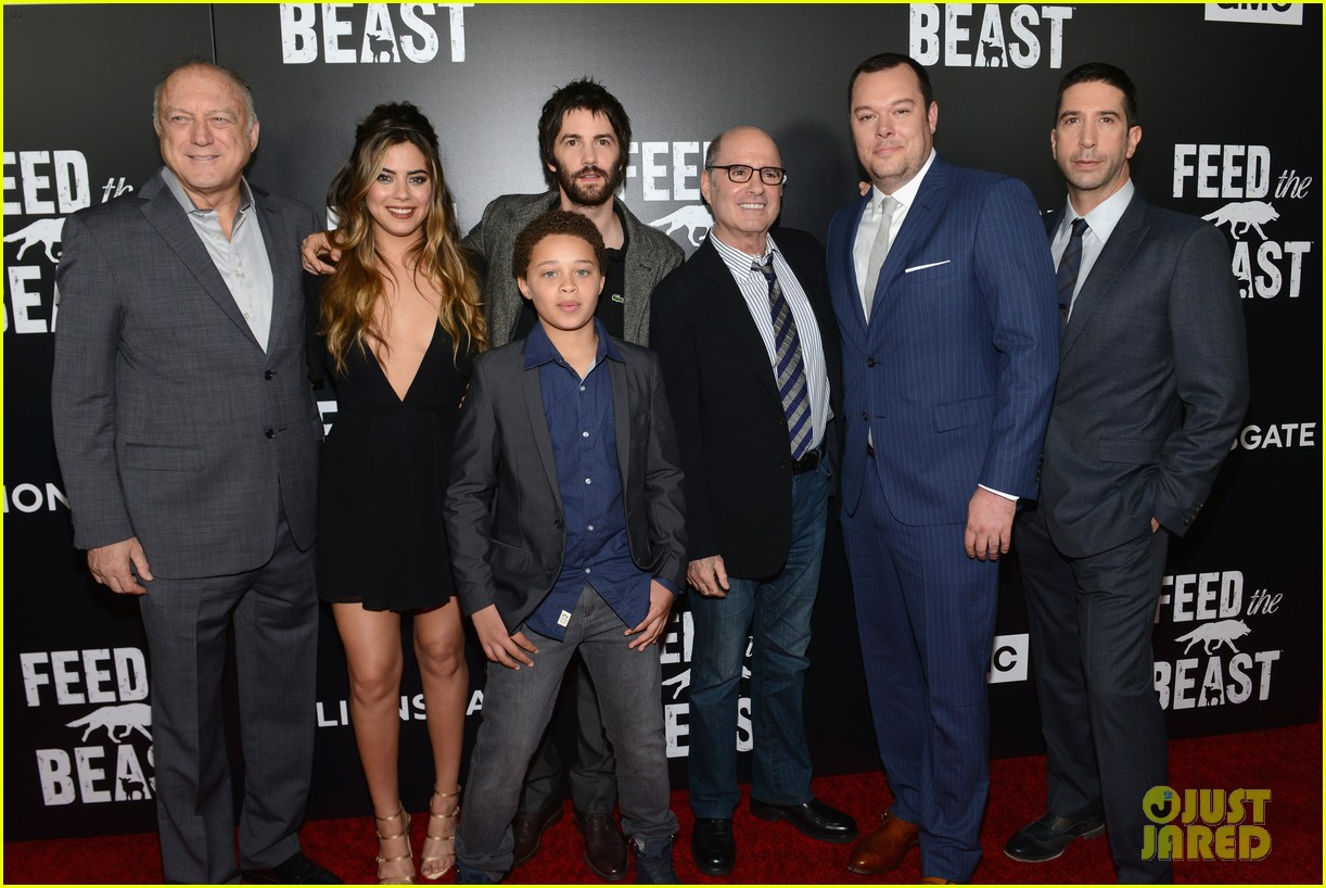 jim sturgess david schwimmer feed the beast in nyc 023664967