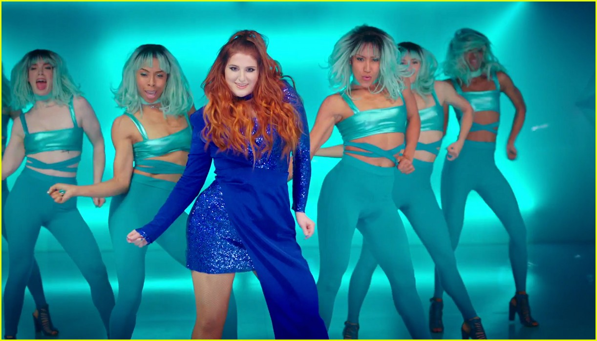 Meghan Trainor Reveals Side By Of Two Me Too Videos