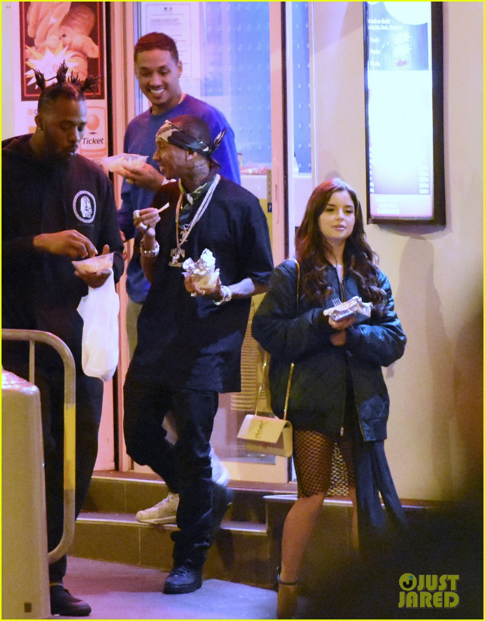 tyga steps out with new after kylie jenner break up 263661829