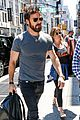 jennifer aniston justin theroux step out in new york 08