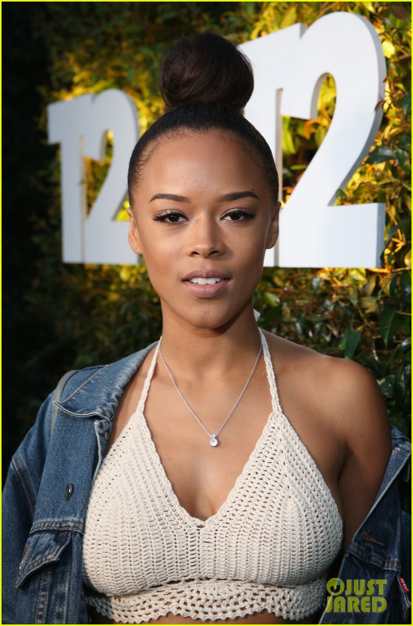 Serayah Is All About The Denim At Take Two S E3 Kickoff