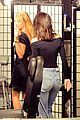 kendall jenner &  hailey baldwin hit up tattoo parlor 22